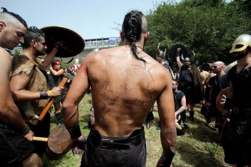 Фестиваль викингов в Испании
