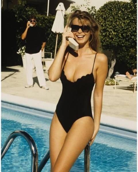 Архивные снимки знаменитостей