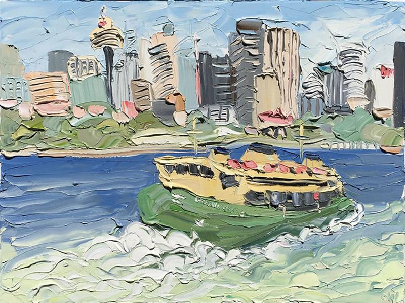 Пляжные картины маслом от австралийской художницы Салли Уэст