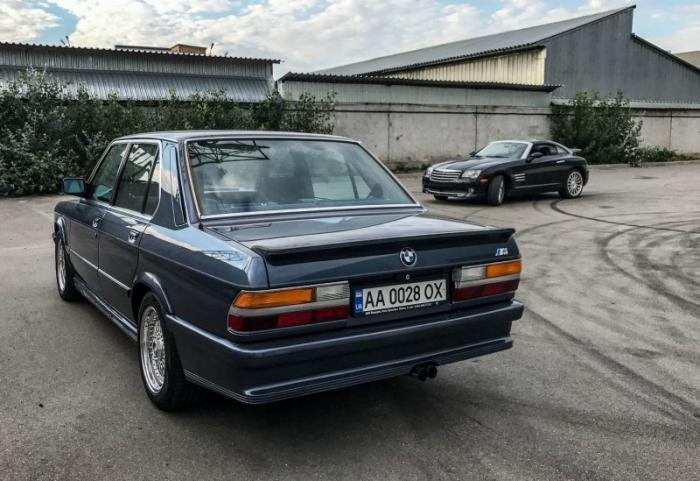 BMW 535i E28 Акула - таких уже не делают