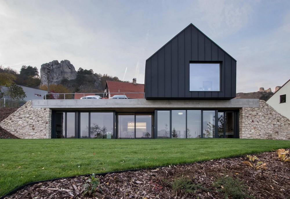 Два дома в одном в Чехии