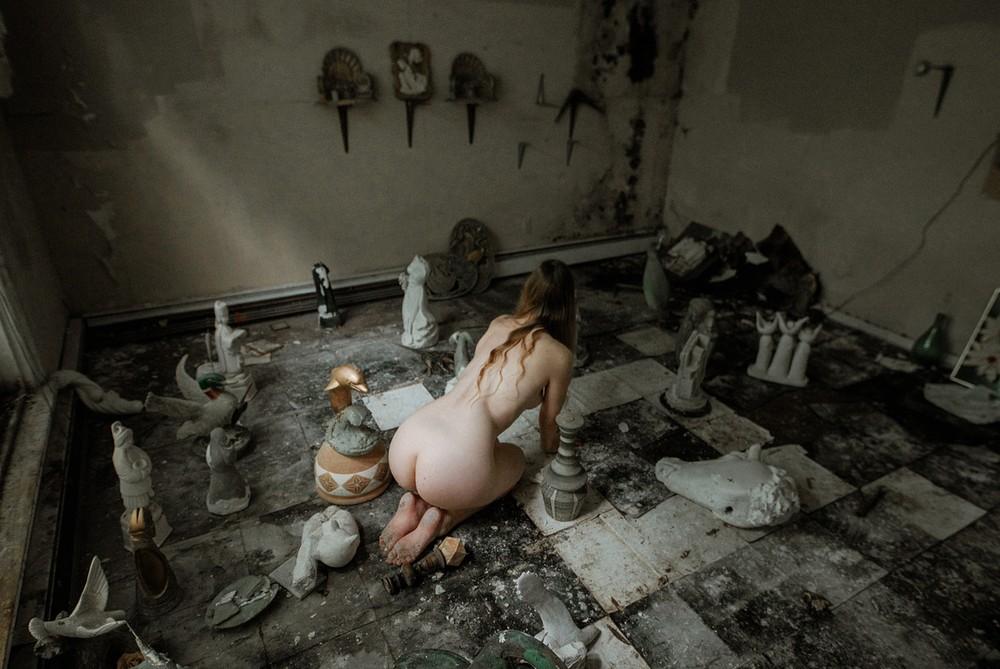 Концептуальная и портретная фотография Стива Гиндлера