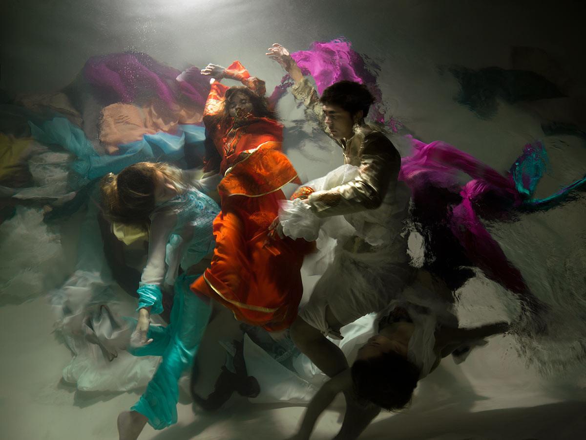Проект Музы: подводные снимки от Кристи Ли Роджерс