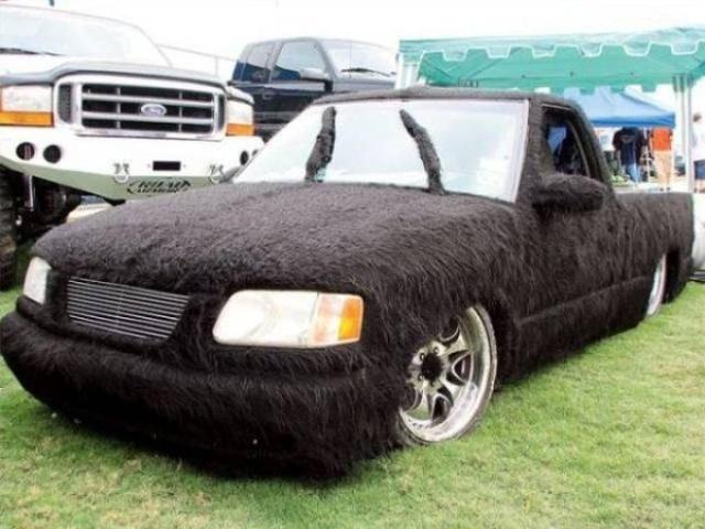 Удивительный тюнинг автомобилей
