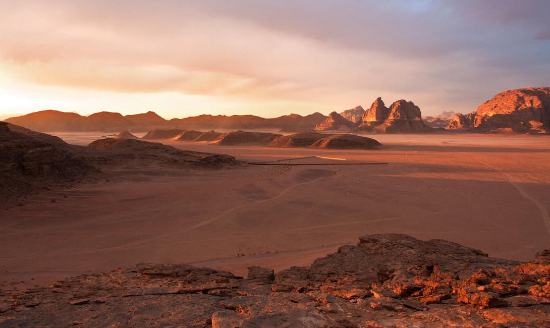 Марсианская пустыня Вади Рам