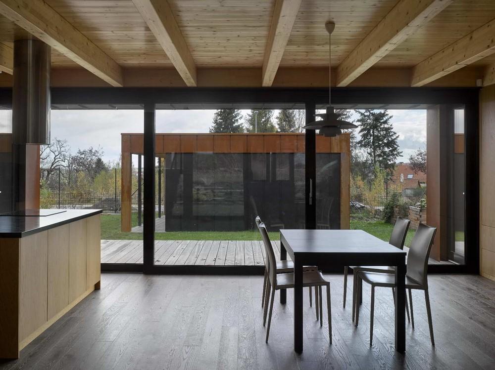 Простой семейный дом в Чехии