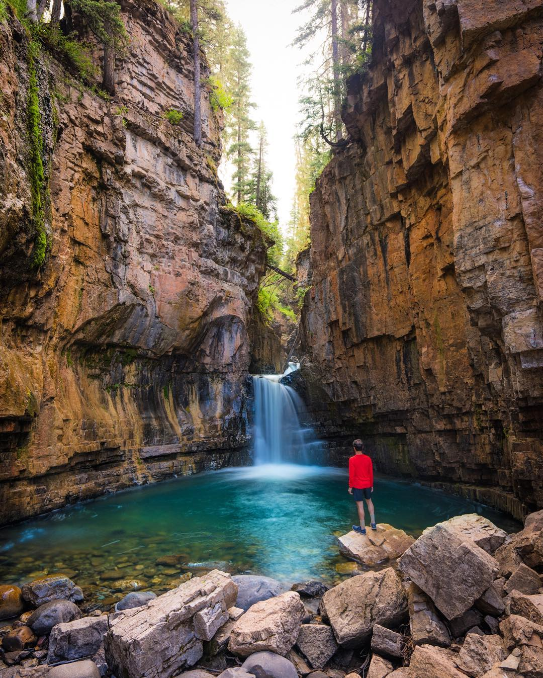 Путешествия и приключения на снимках Nate Luebbe