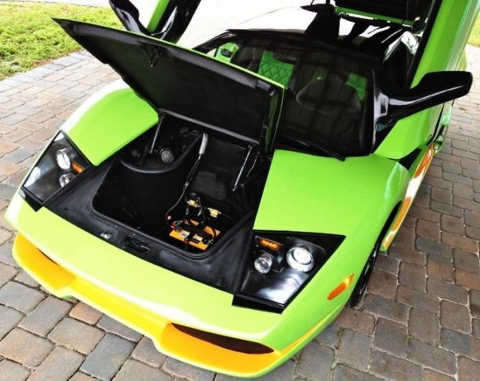 Реплика Lamborghini Murcielago из старенького Porsche