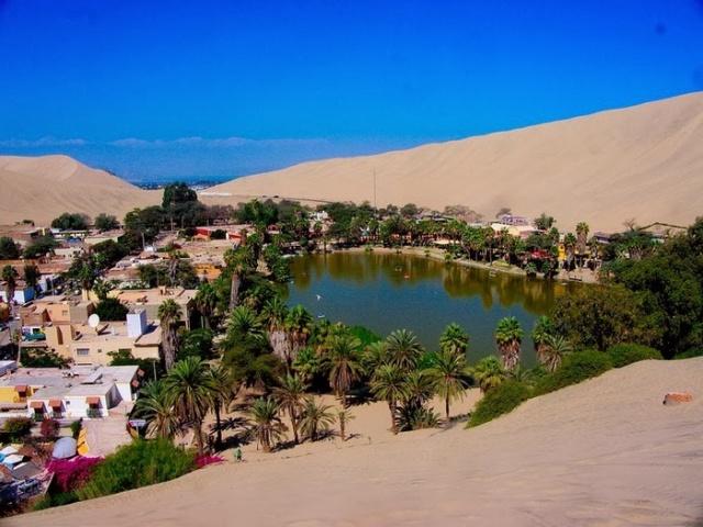 Уакачина - удивительный оазис в Перу