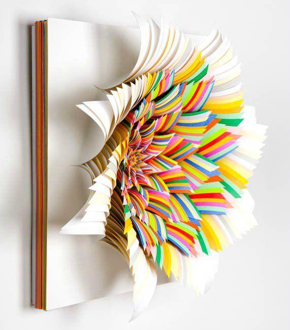 Бумажное искусство от Jen Stark