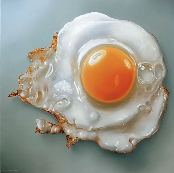 Гиперреалистичные рисунки еды от Тжальфа Спарнаайа
