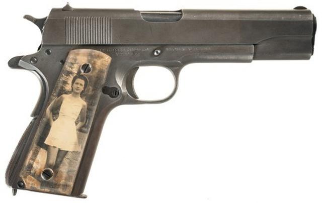 Модифицированные пистолеты американских солдат времен Второй мировой войны