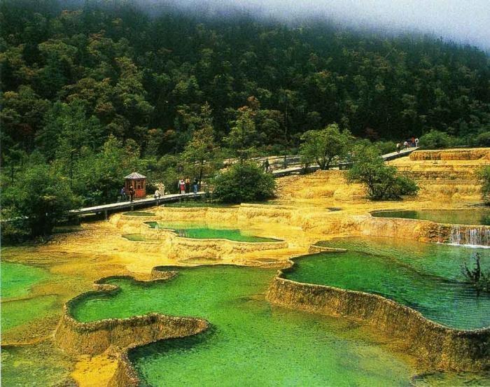 Желтый дракон: живописнейший заповедник Хуанлун