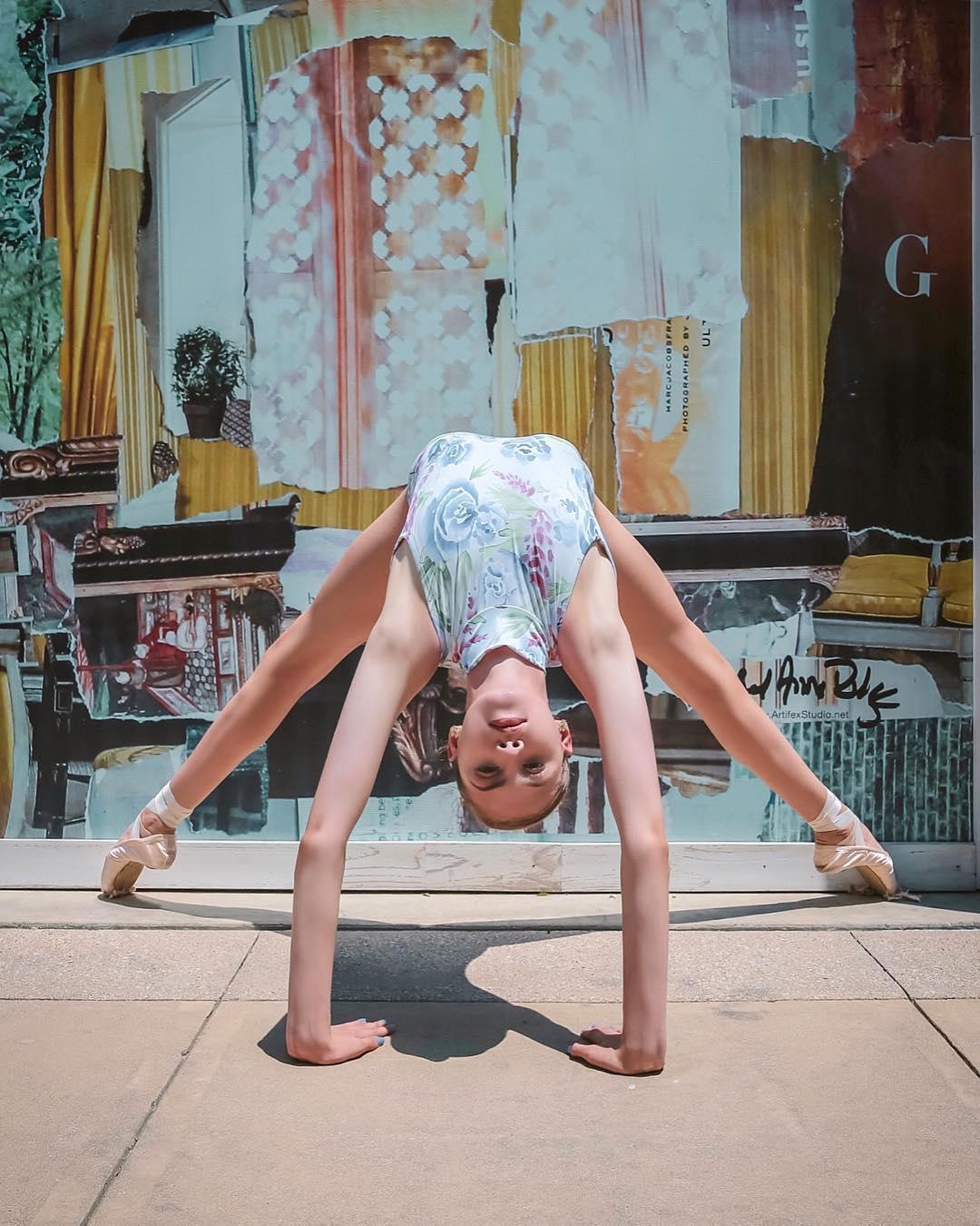 Балерины на улицах Далласа от Киры Брукс