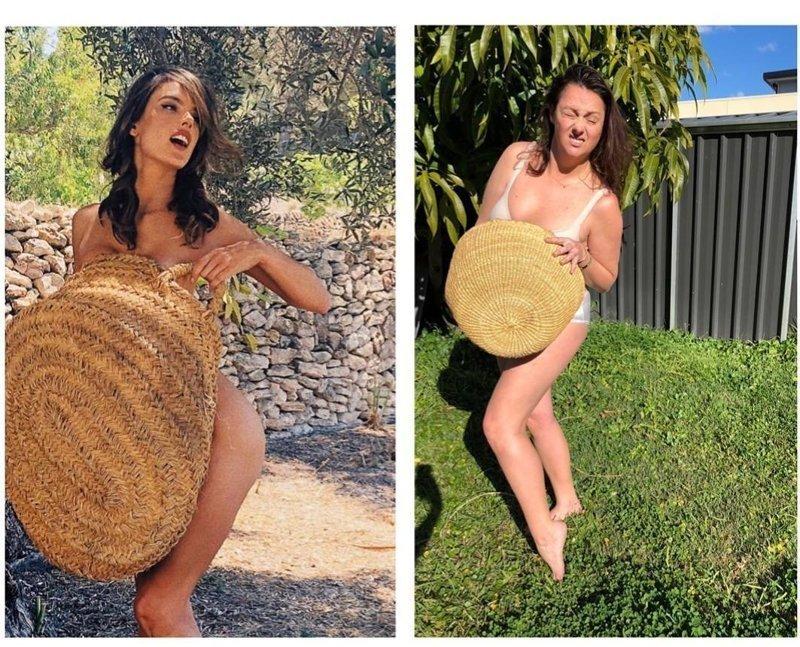 Селеста Барбер продолжает воссоздавать фотографии звезд