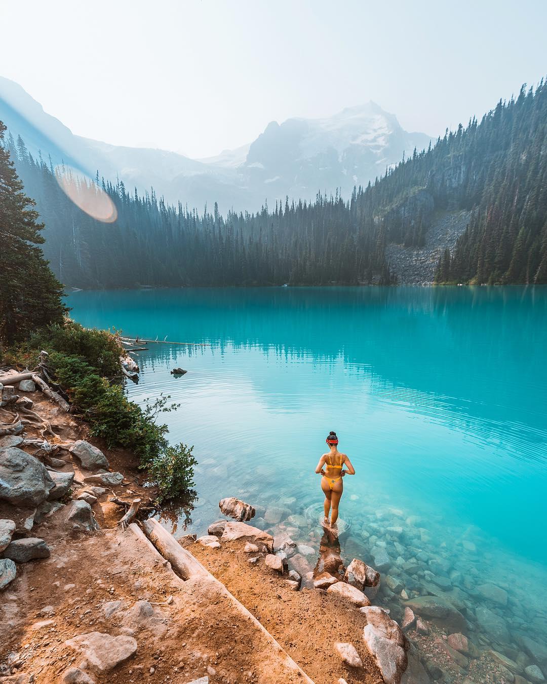Увлекательные приключения и пейзажи на снимках Энди Ву