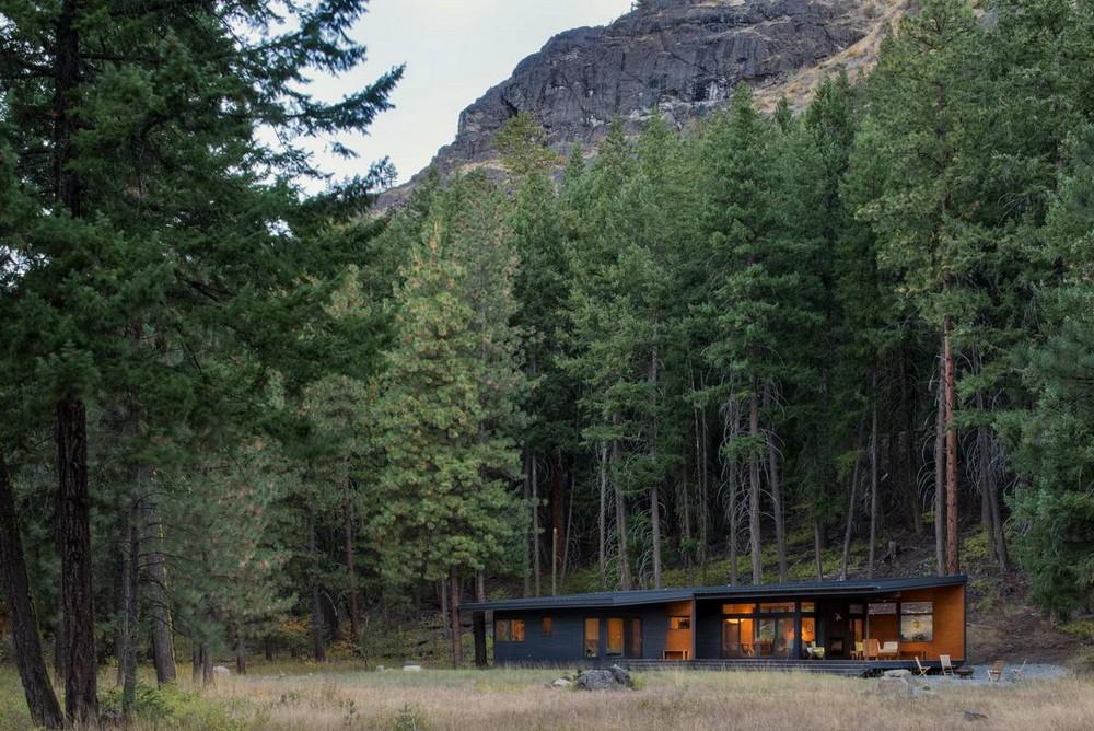 Лесной домик в США