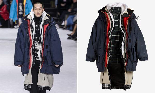 Модная куртка за 7 845 баксов, в которой будешь выглядеть как бомж