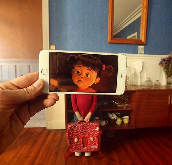 Персонажи из кино и мультфильмов в реальной жизни