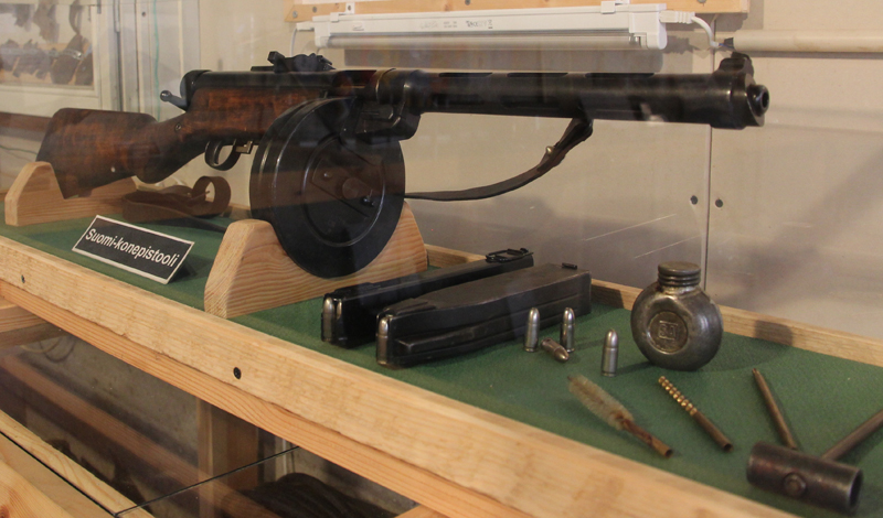 Submachine gun from Finland that changed history