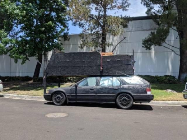 Странный тюнинг автомобилей