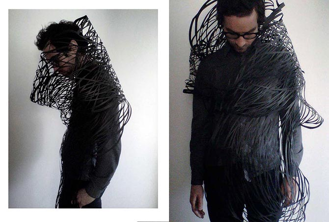 Трехмерные бумажные скульптуры Кристины Ким