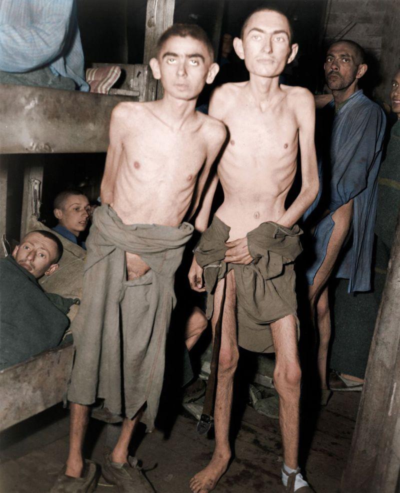 Цветные снимки ужасов Холокоста