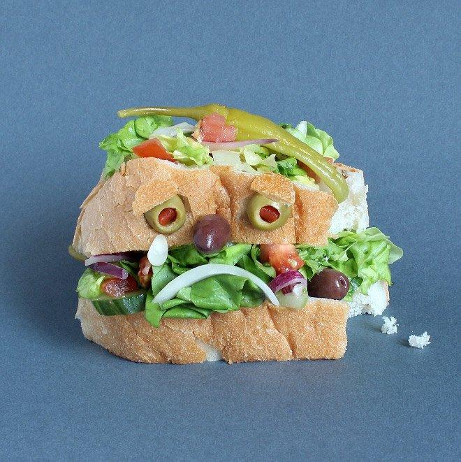 Сэндвич-монстры от Каси Хаупт