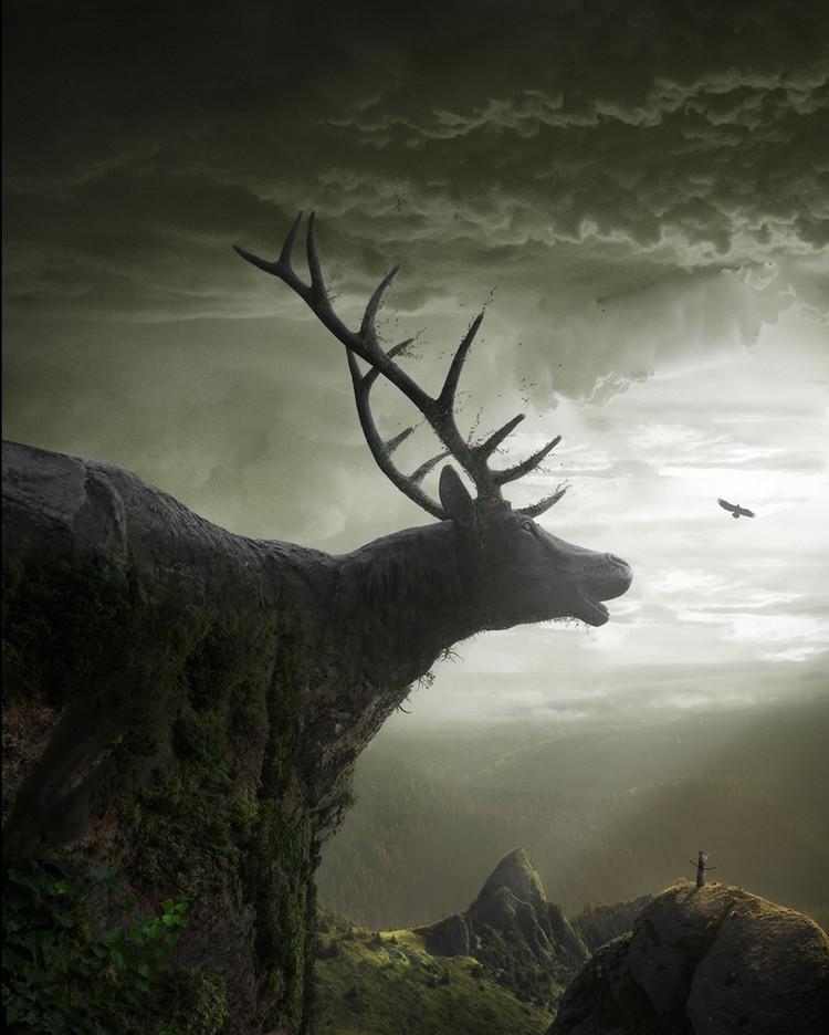 Удивительные фотоманипуляции от польского художника