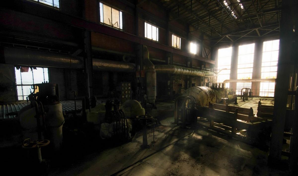 Заброшенная угольная электростанция Lostock в Великобритании