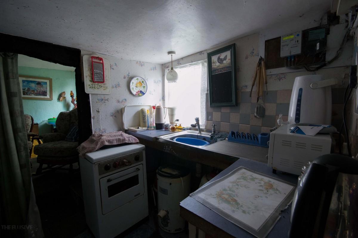 Заброшенный дом в Шотландии простоял нетронутым около 30 лет