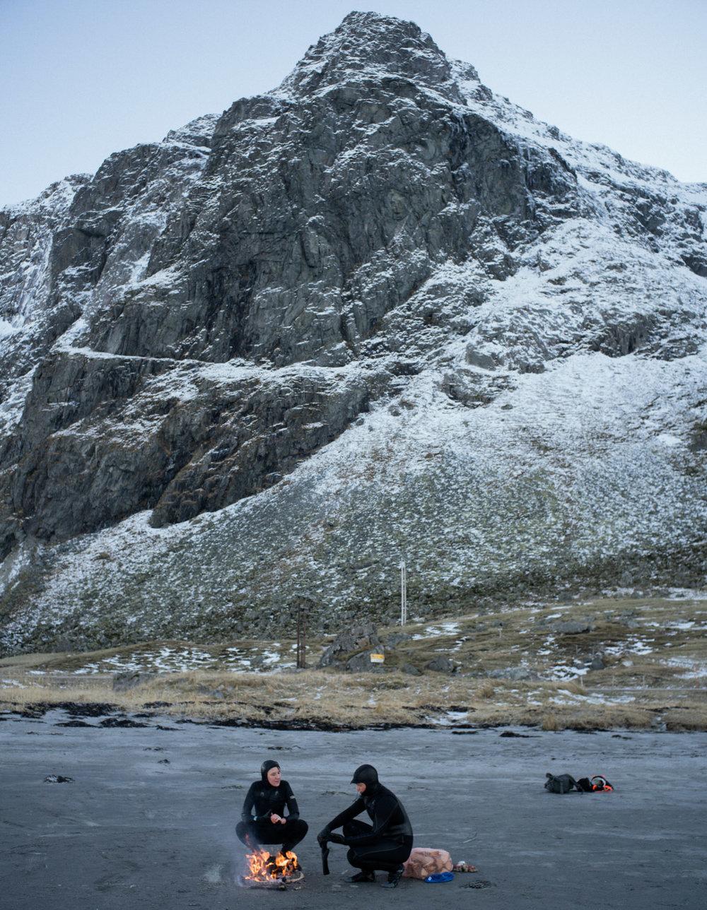 Арктический серфинг на Лофотенских островах от Тима Франко