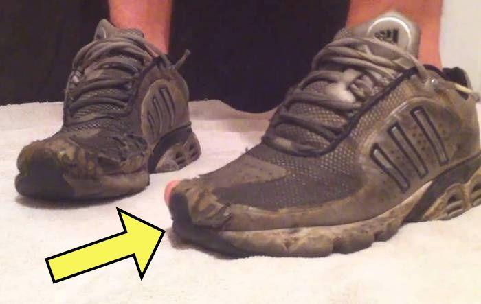 Возвращаем побитым жизнью кроссовкам нормальный вид