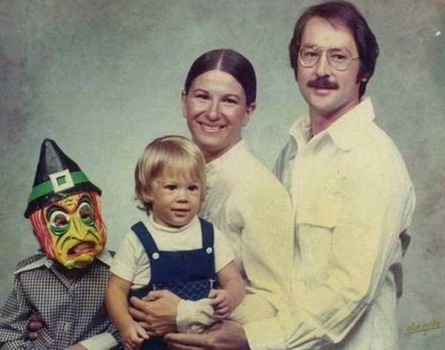 Прикольные фото из семейных альбомов
