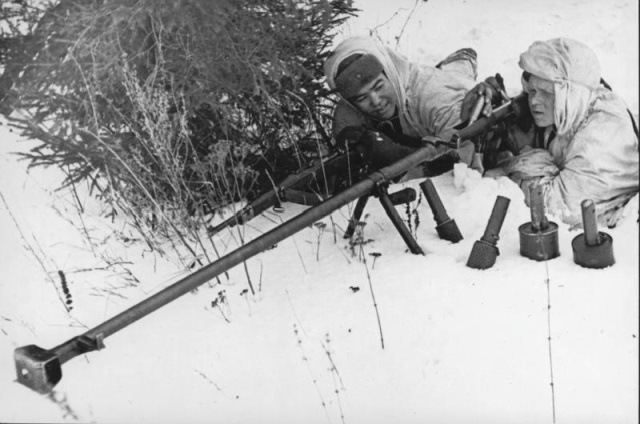 Архивные кадры Великой Отечественной войны