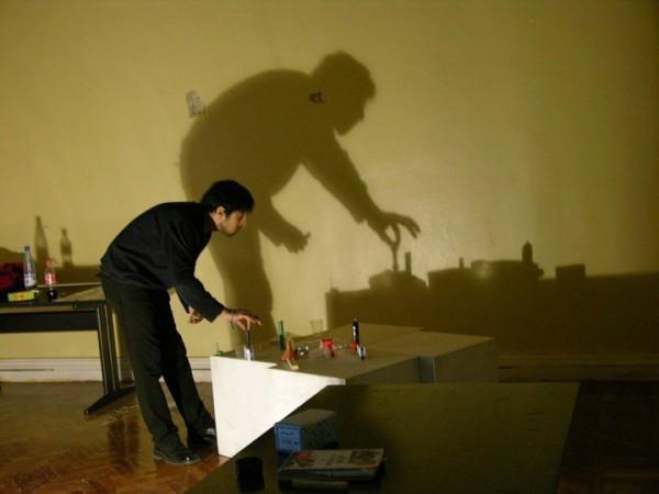 Картины, нарисованные при помощи света и теней