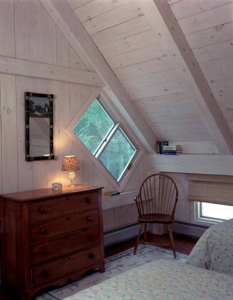 Ведьмино окно - традиция архитектуры в Вермонте