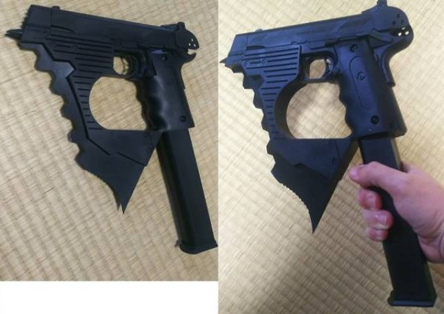 Необычное оружие, которое круто выглядит