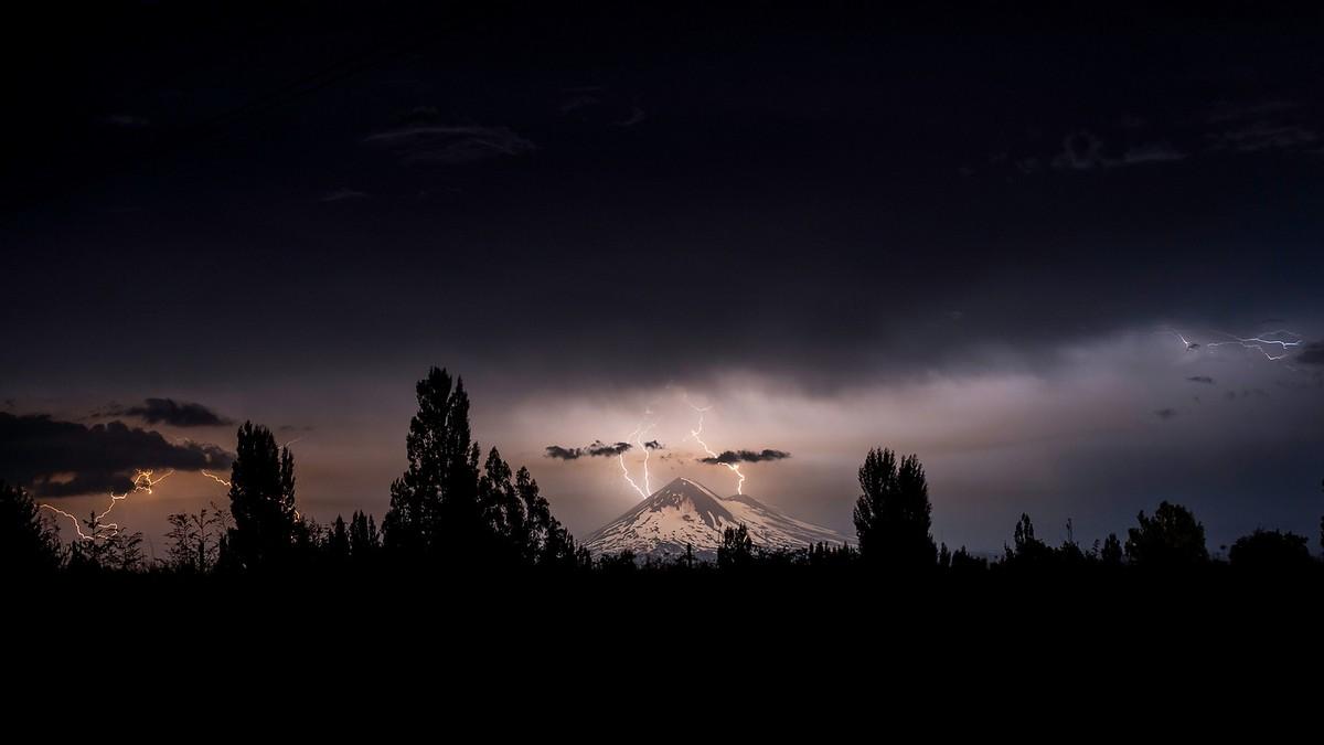 Вулканы Чили в объективе Франциско Негрони