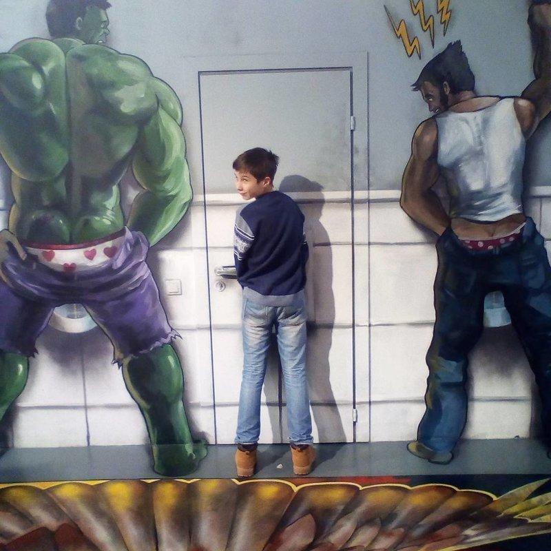 Подражая искусству, или каждый из нас делал это хоть раз в жизни