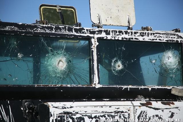 Бронетехника сирийских террористов