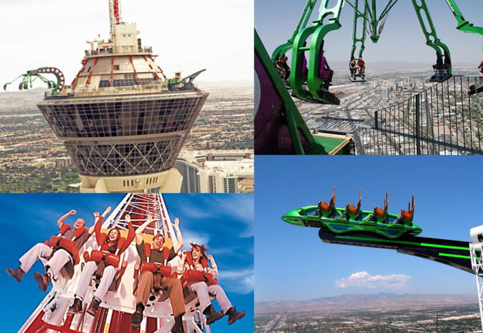 Dizzying rides from different countries