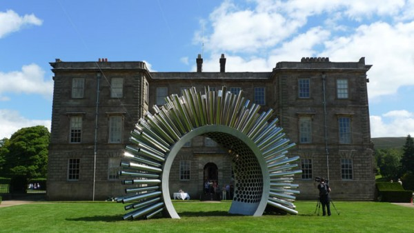 Музыка ветра в виде скульптуры Aeolius