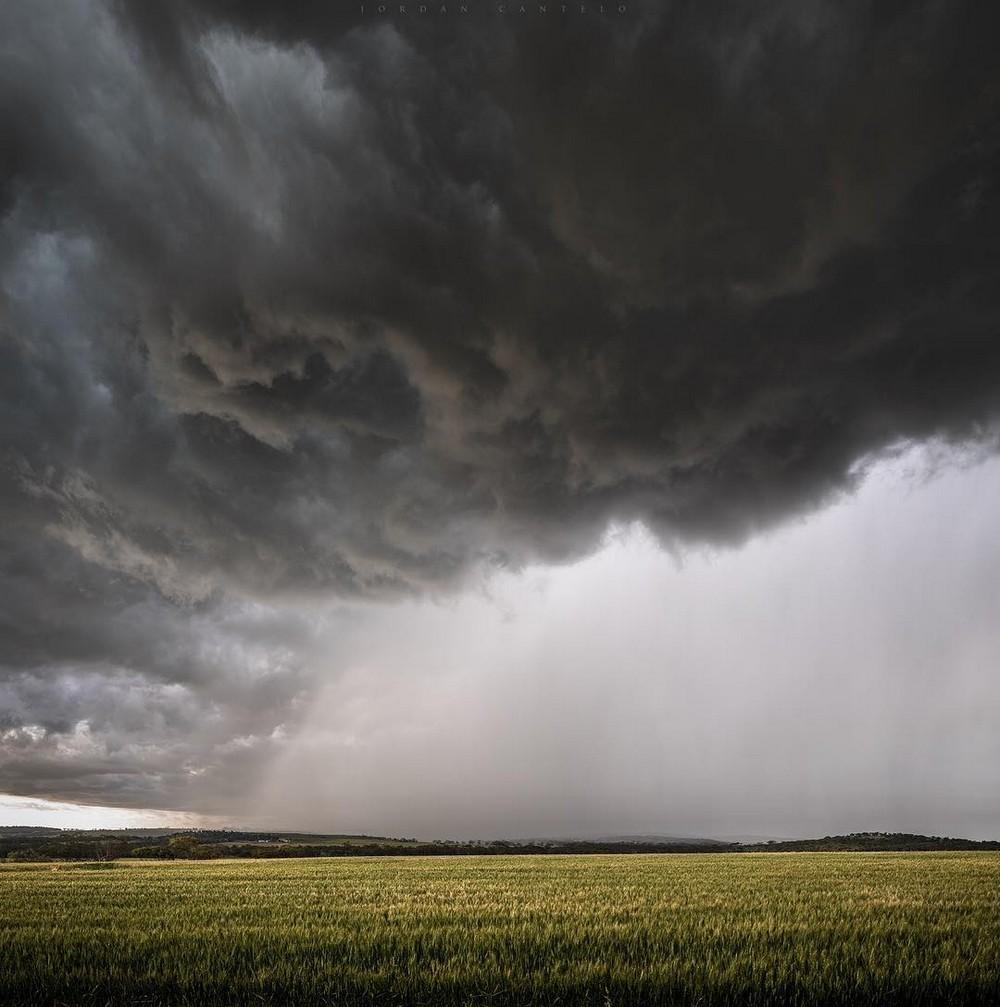 Грозы и шторма Австралии на снимках Джордана Кантело