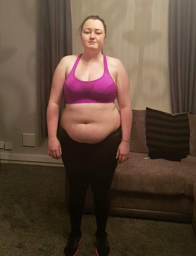 Девушка отказалась от алкоголя и похудела на 32 кг