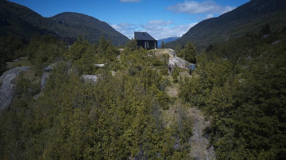 Загородный дом для любителей природы в Чили