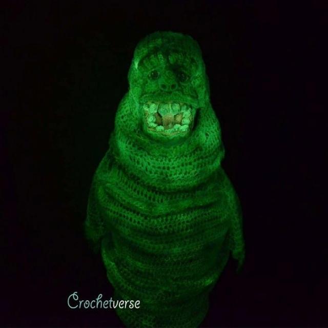 Вязанные крючком костюмы на Хэллоуин