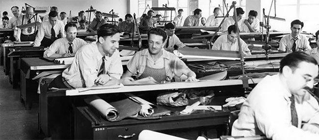 Жизнь проектировщиков до появления AutoCAD
