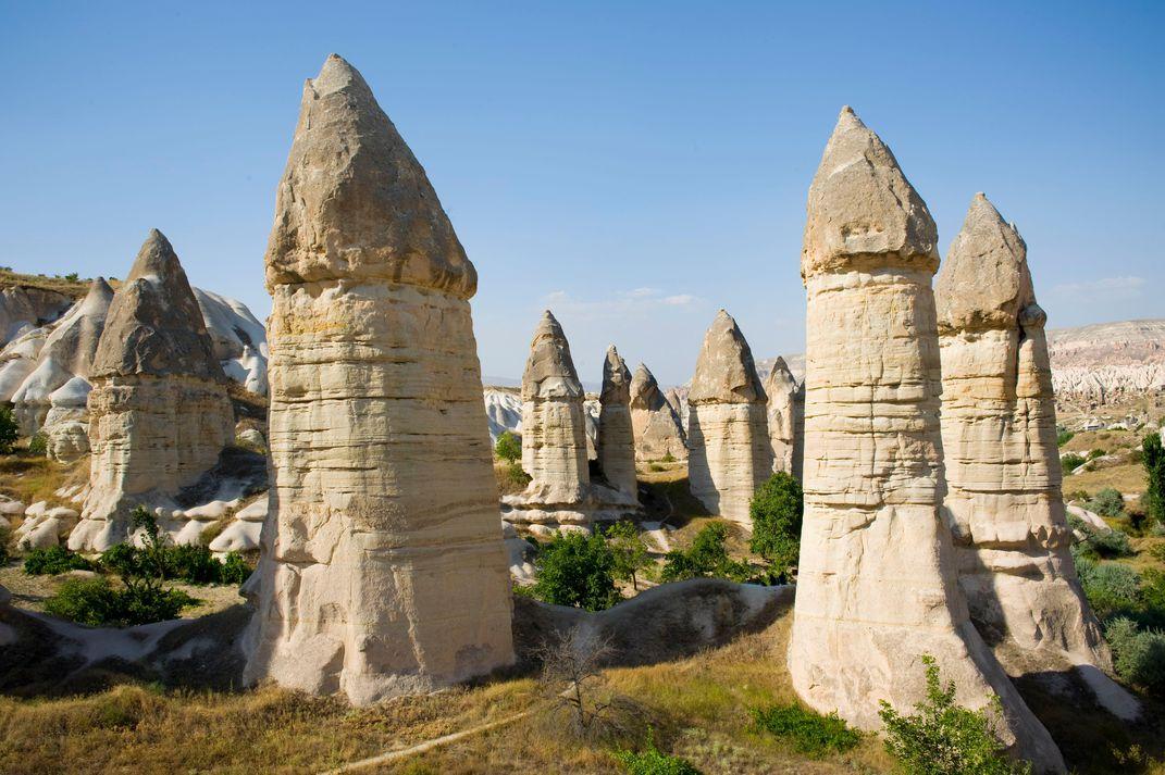 8 странных геологических образований нашей планеты