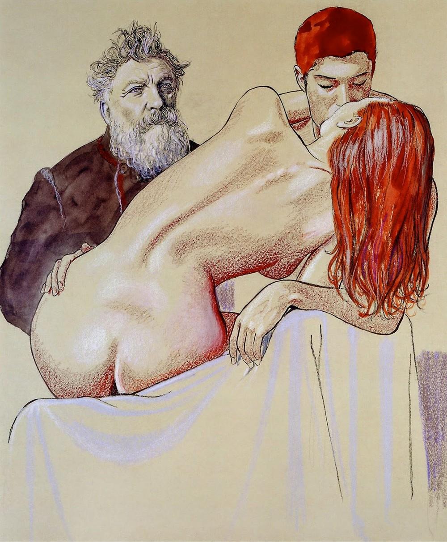 Девушки в работах итальянского художника Мило Манара